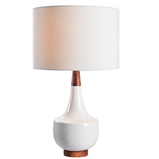 Modern Contemporary Wood Base Table Lamp Allmodern