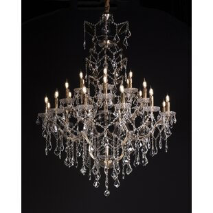 Astoria Grand Rodrigues 25-Light Candle Style Chandelier