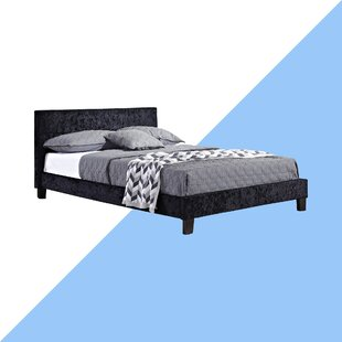 Berlin Upholstered Bed Frame By Hashtag Home