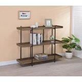 Alday 38.25'' H x 47.25'' W Standard Bookcase by 17 Stories
