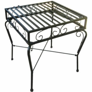International Caravan Tropico Iron Patio Side Table