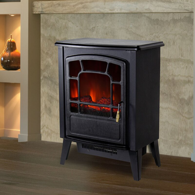 Lochner Freestanding Electric Fireplace