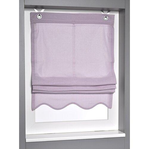 Raffrollo Blickdicht ClearAmbient Größe: 140 L x 120 B cm| Farbe: Lila | Heimtextilien > Jalousien und Rollos | ClearAmbient