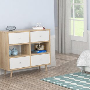 Dubuc 4 Drawer Double Dresser