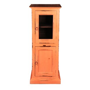 Julianne Glass 1 Door Accent Cabinet