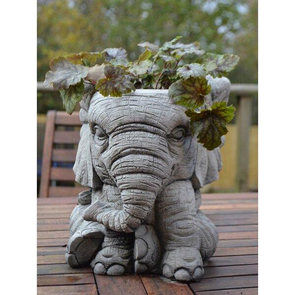 Completely new Garden Ornaments by Onefold Elephant Pot Stone Garden Statue  LN28