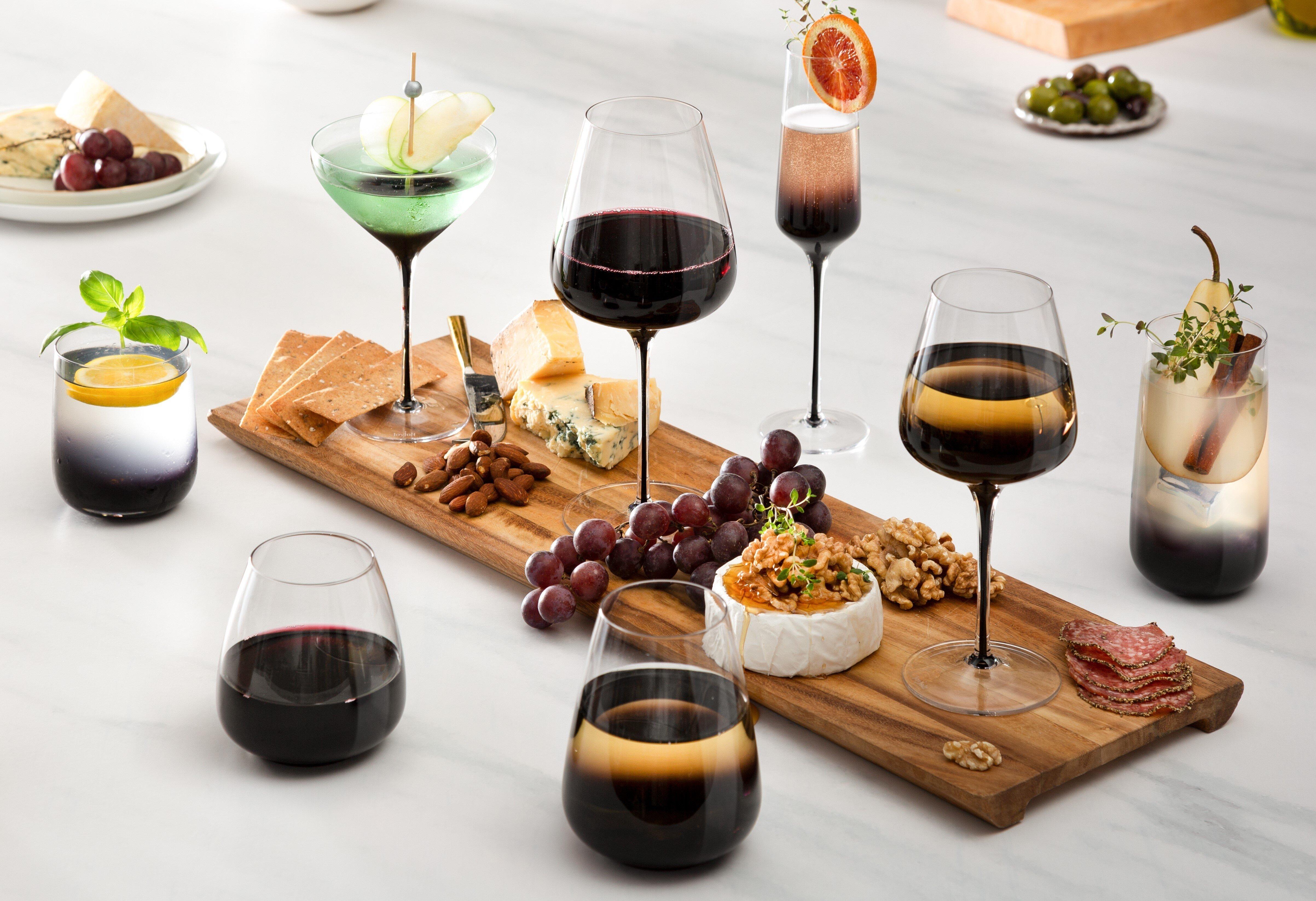 Large Red Wine Glasses Drinkware You Ll Love In 2021 Wayfair