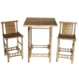 Bay Isle Home Stewart 3 Piece Bistro Set