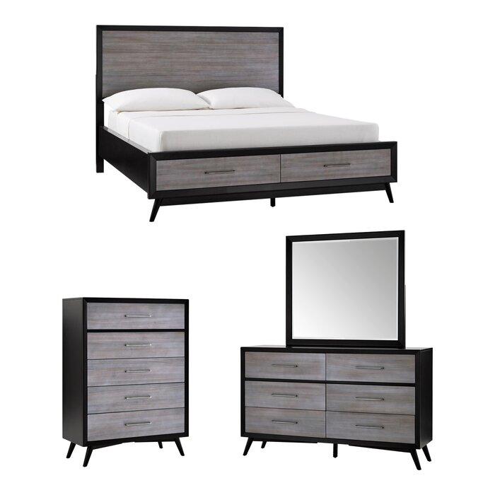 Alleya Platform Bedroom Set