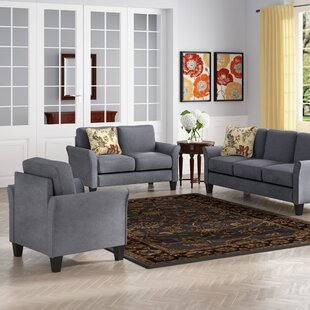 Read Reviews Goldnilla 3 Piece Living Room Set by Red Barrel Studio Reviews (2019) & Buyer's Guide