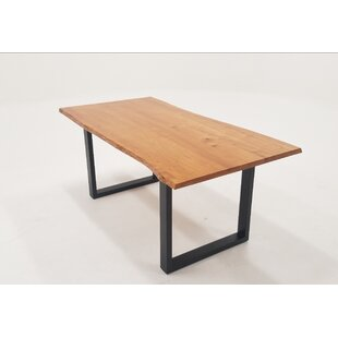 Union Rustic Zimmer Solid Wood Dining Table