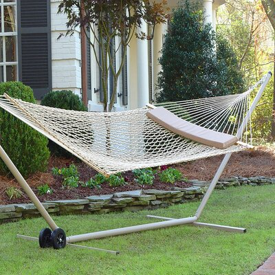 Tabor Double Spreader Bar Hammock by Rosecliff Heights No Copoun