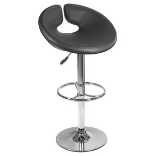 Kiara Swivel Adjustable Bar Stool By Metro Lane