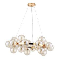 George Oliver George Oliver Bruce 5 Light Sputnik Sphere Chandelier Finish: Brass Shade Color: Clear from Wayfair   Shop