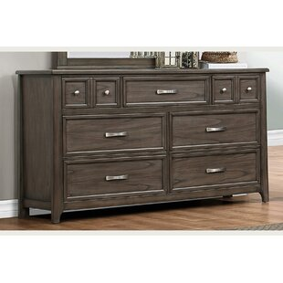 Pirkle 9 Drawer Dresser by Gracie Oaks