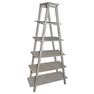 Shelby Ladder H Etagere Bookcase Crestview Collection