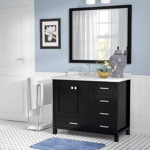 Compare Marine 43 Wood Single Bathroom Vanity Set ByAndover Mills