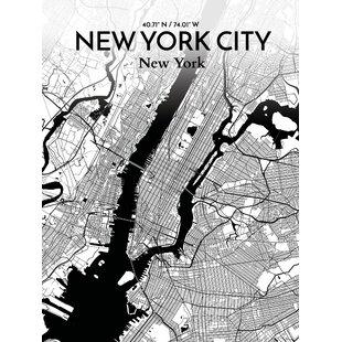 Vintage New York City Subway Map.New York Subway Map Wayfair