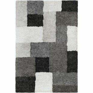 Great choice Annie Geometric Hand-Tufted Ivory/Black Area Rug ByOrren Ellis
