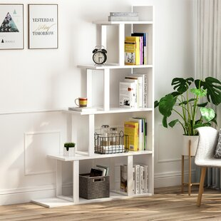 Aquavia Step Bookcase by Wrought Studio