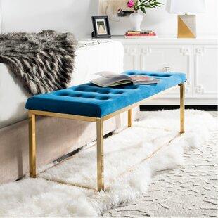 Mercer41 Hayse Upholstered Bench