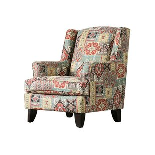 Price comparison Tensift Wingback Chair by Bloomsbury Market Reviews (2019) & Buyer's Guide
