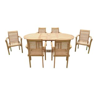 Workman 6 Seater Dining Set By Sol 72 Outdoor