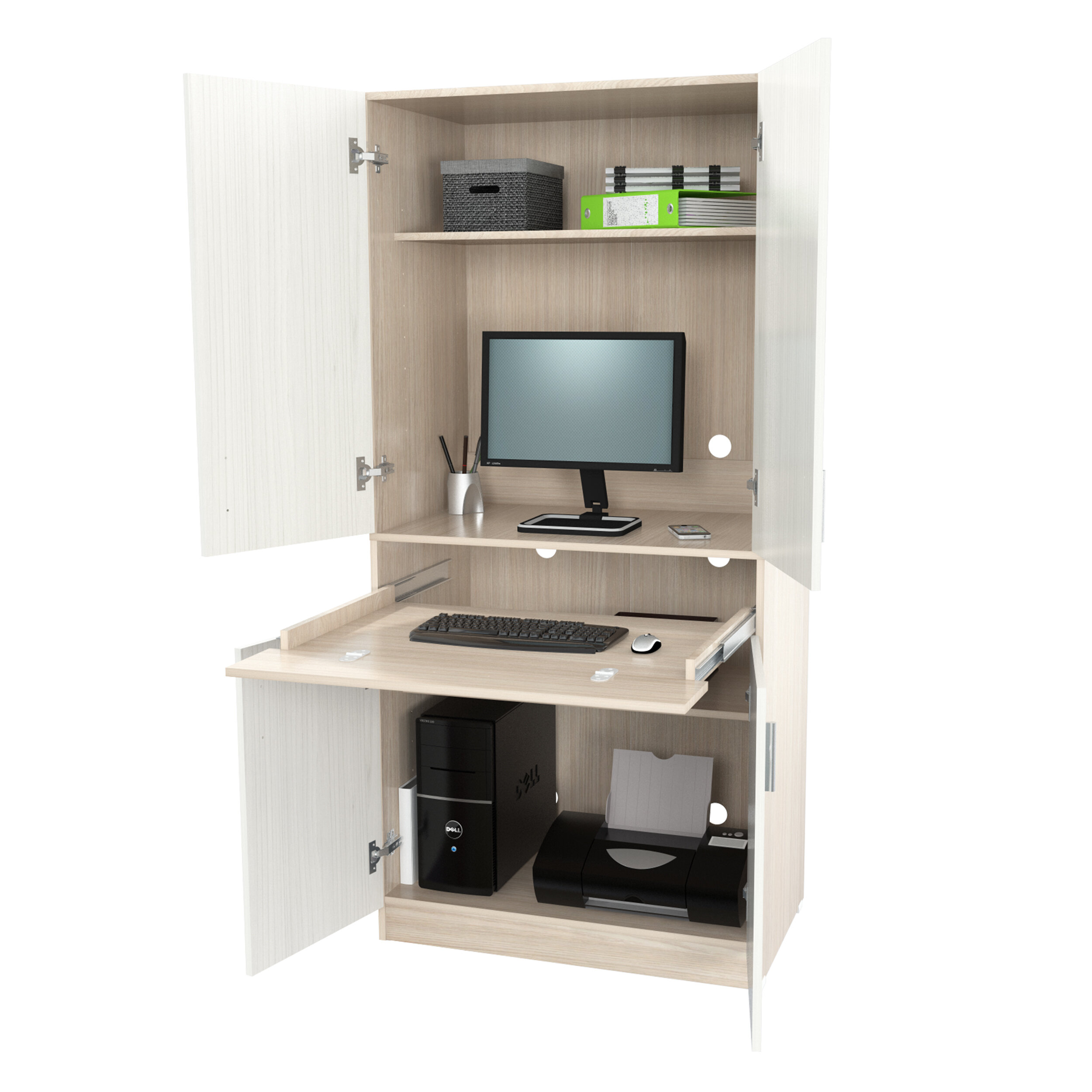 Latitude Run Bluxome Armoire Desk Reviews