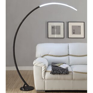 Check Prices Wankowski 74.5 LED Arc Floor Lamp By Orren Ellis