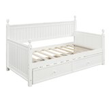Ackermann Twin Daybed with Trundle by Rosecliff Heights