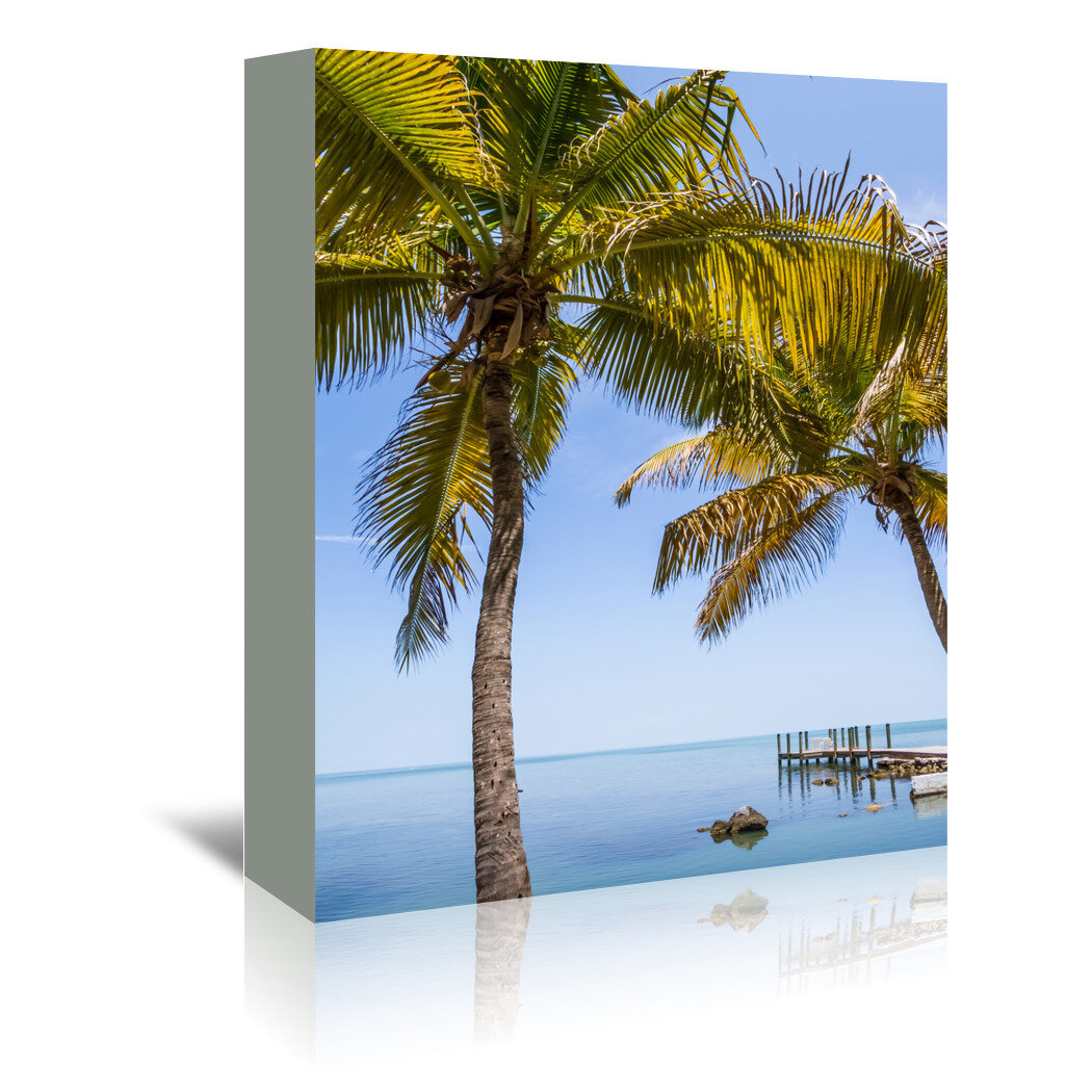 Americanflat Florida Keys Lovely Oceanside By Melanie Viola Photographic Print Wrapped On Canvas Wayfair Co Uk