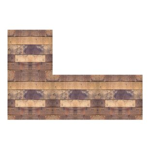 Natural Woods Peel And Stick Foam Tiles Wall Decal (Set Of 8)