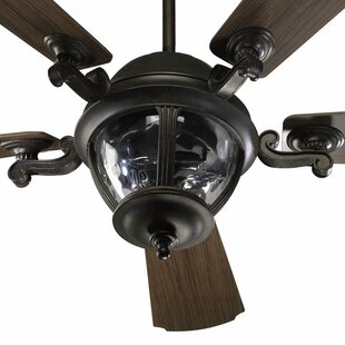 Big Save 52 Westbrook 5-Blade Patio Ceiling Fan with Remote By Quorum