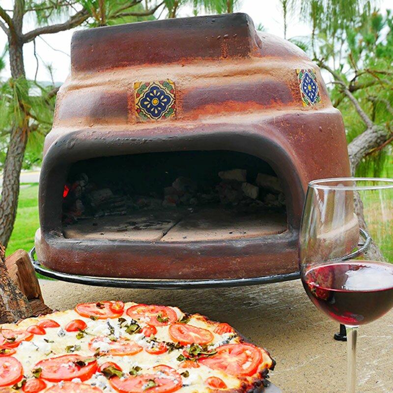 talavera tile pizza oven