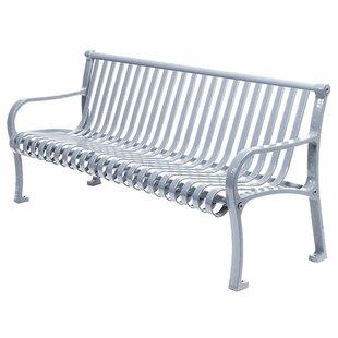 Oglethorpe Metal Park Bench