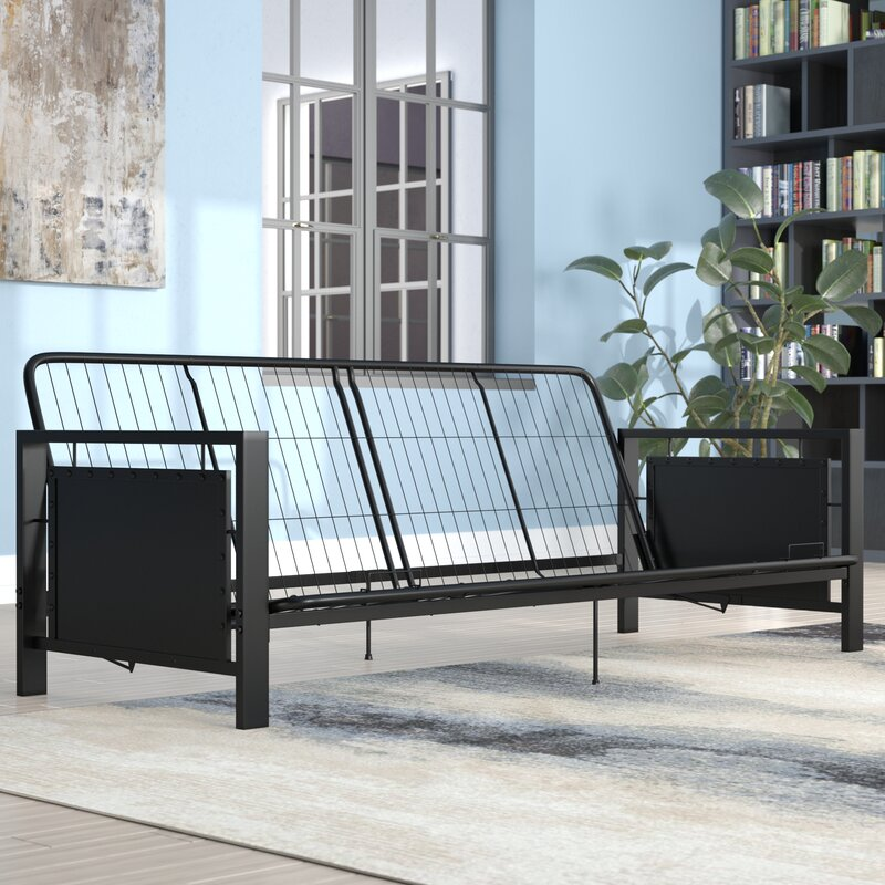 Metal Arm Futon Frame