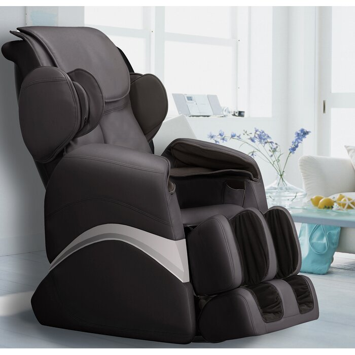 Superb Faux Leather Reclining Massage Chair Caraccident5 Cool Chair Designs And Ideas Caraccident5Info