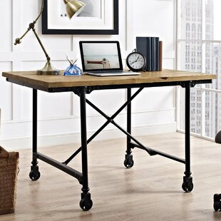 Braxten Raise Wood Writing Desk
