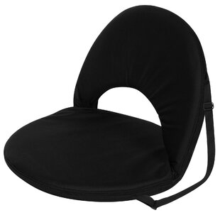 Trademark Innovations Portable Reclining Stadium Seat with Cushion
