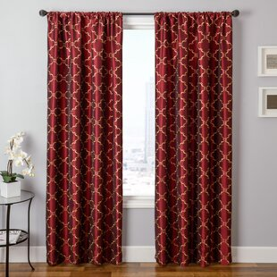 Basso Single Curtain Panel