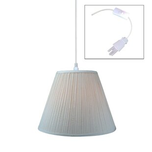 1-Light Cone Pendant by Home Concept Inc