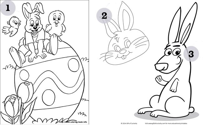 Easter Printables Coloring Pages