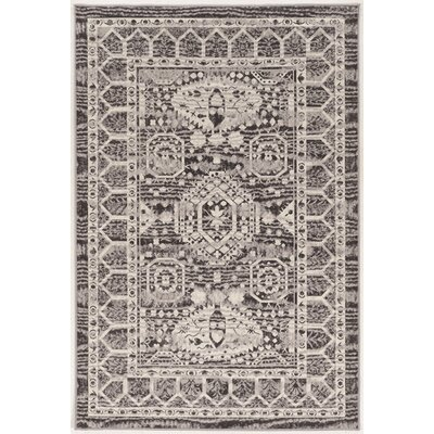 Charlton Home Shoshana Beige/Gray Rug Rug Size: Rectangle 8' x 10'