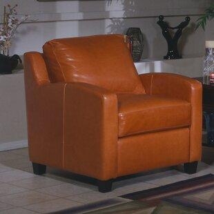 Omnia Leather Chelsea Deco Armchair