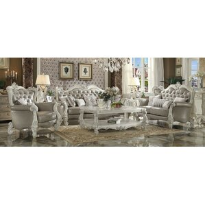 white living room furniture sets. Queen 3 Piece Living Room Set White Sets You ll Love  Wayfair