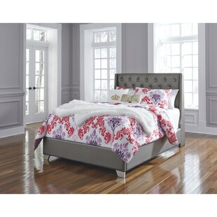 Reviews Guillaume Full Upholstered Panel Headboard by Willa Arlo Interiors