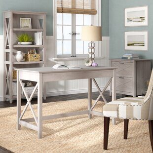 Oridatown Desk, Bookcase and Filing Cabinet Set by Beachcrest Home