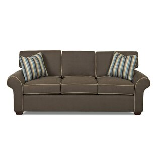 Shop Oak Bluffs Queen 88 Sleeper Sofa by Charlton Home