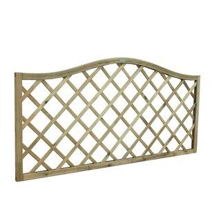 6' x 3' (1.8m x 0.9m) Lattice Fence Panel (Set of 3) by Bel Étage