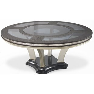 Hollywood Swank Round Dining Table by Michael Amini Great Reviews